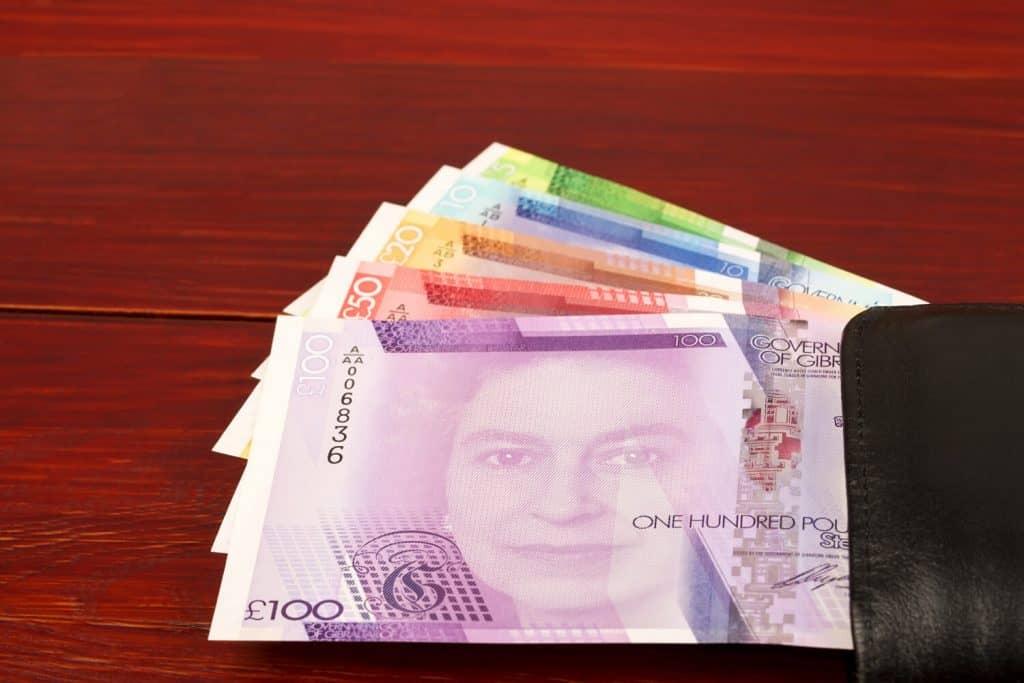 Gibraltar pound sterling