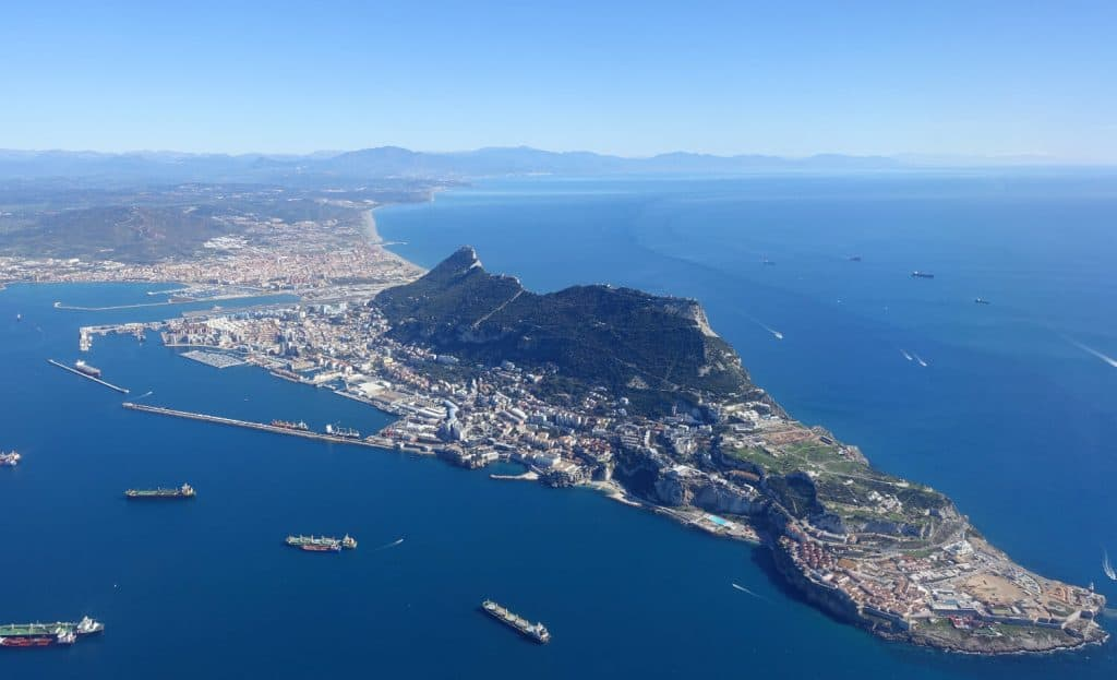 gibraltar view of